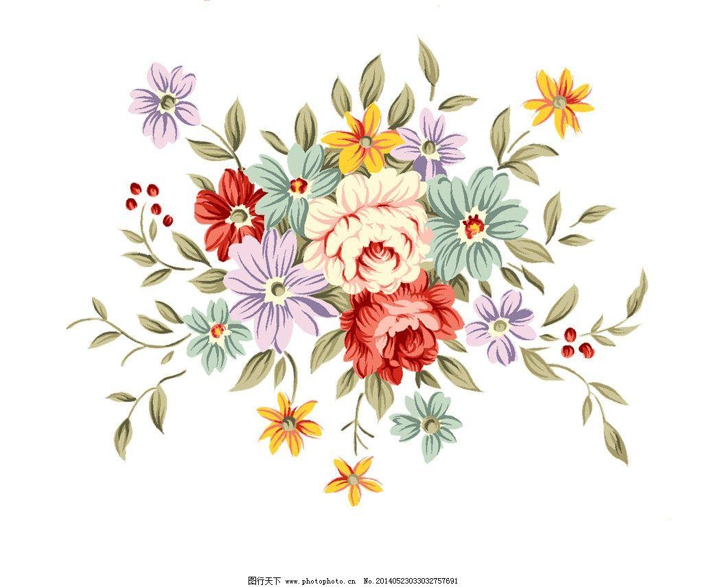 花朵 韩国 手绘 分层 造型 psd分层素材 源文件 508dpi psd