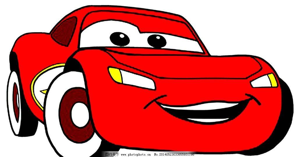 闪电麦昆彩色矢量图 闪电 麦昆 彩色 矢量图 cdr 卡通汽车 矢量素材