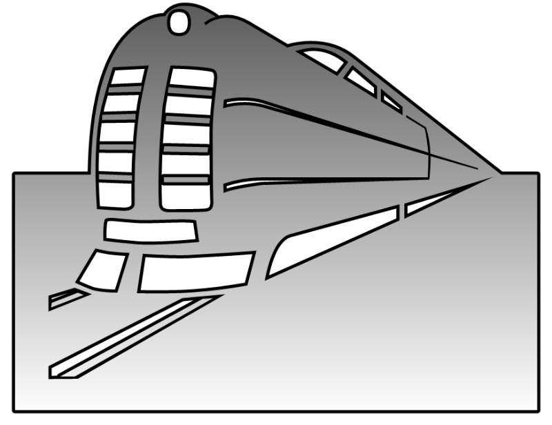 列车简笔画步骤