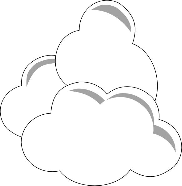 天气云剪贴画