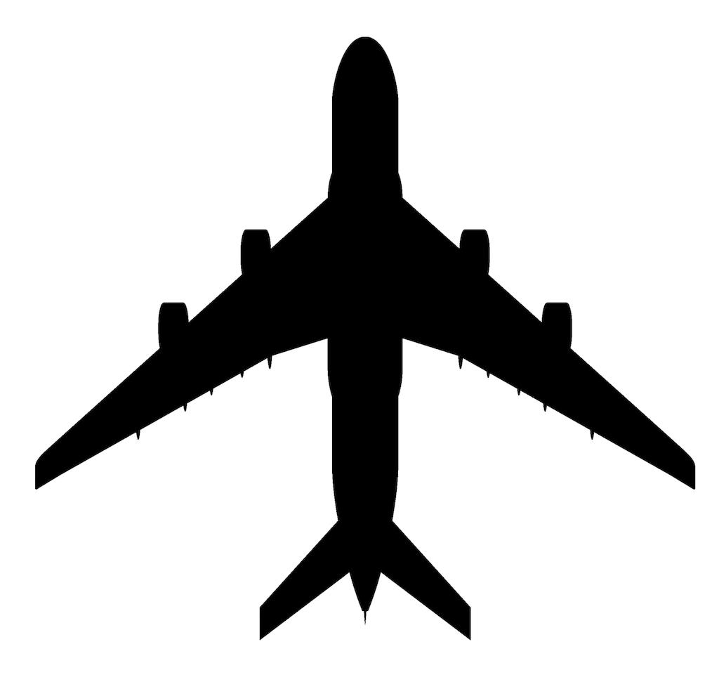 平面 飞机 平面图 飞机的向量 平面剪影矢量免费 免费的矢量平面图标