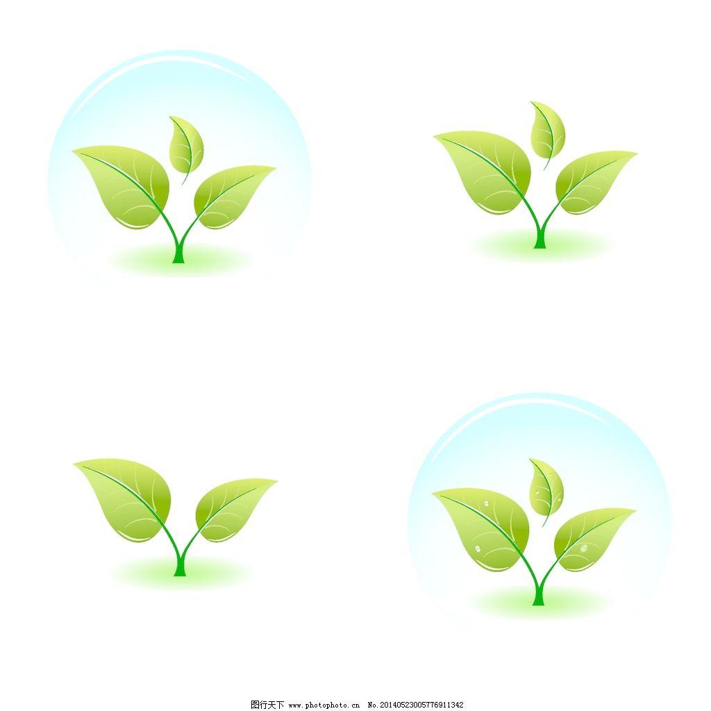 年轻的绿色植物