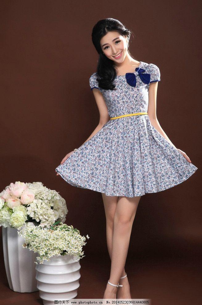 美女 女郎 淘宝服装 裙子 模特 小清新 甜美女生 美女摄影 女性女人