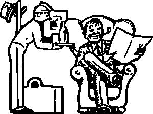约翰尼/约翰尼自动酒店服务的剪辑艺术