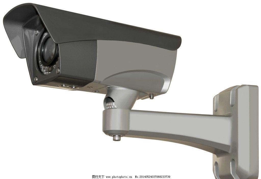 安防监控摄像头图片