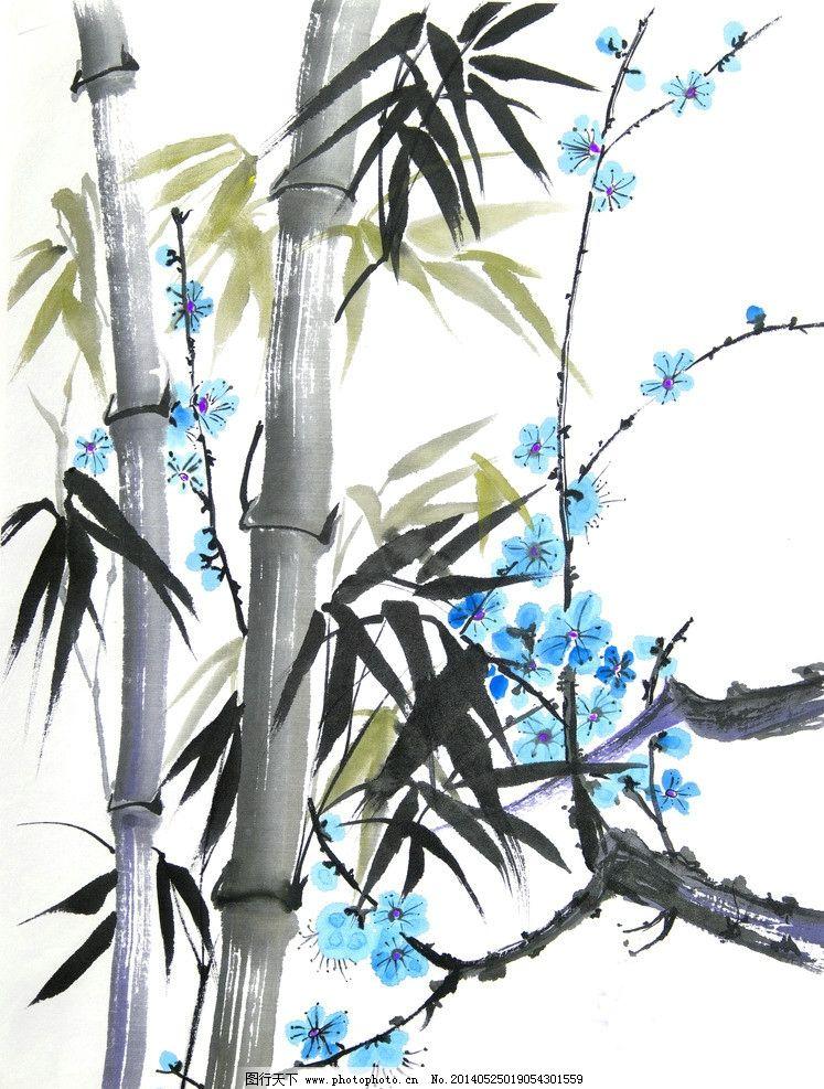 竹子开花图片