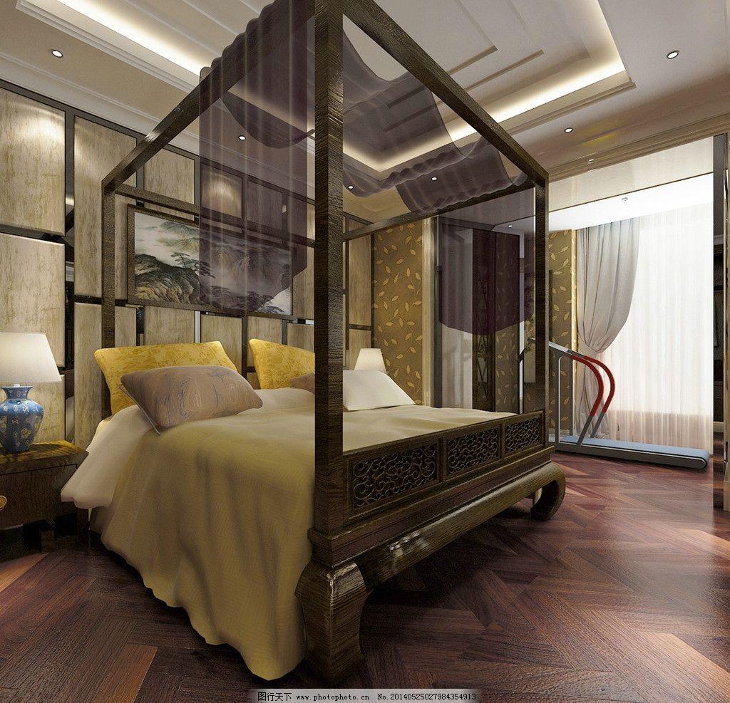 别墅家装卧室效果图图片