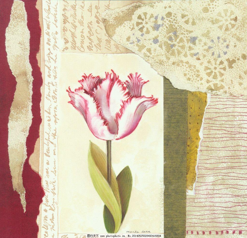 康乃馨 花卉 母亲画 鲜花 花朵 鲜花油画 花卉油画 装饰画 植物画 挂