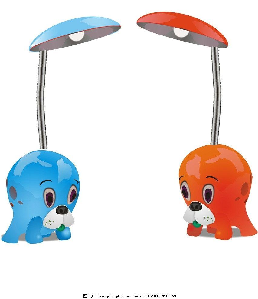 台灯 五彩的 可爱的 章鱼的 小孩用的 矢量素材 其他矢量 矢量 cdr