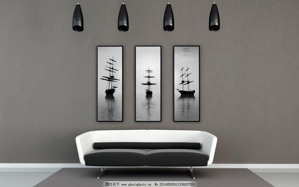 灰色卧室 灰色卧室免费下载 背景墙 装饰素材 室内设计