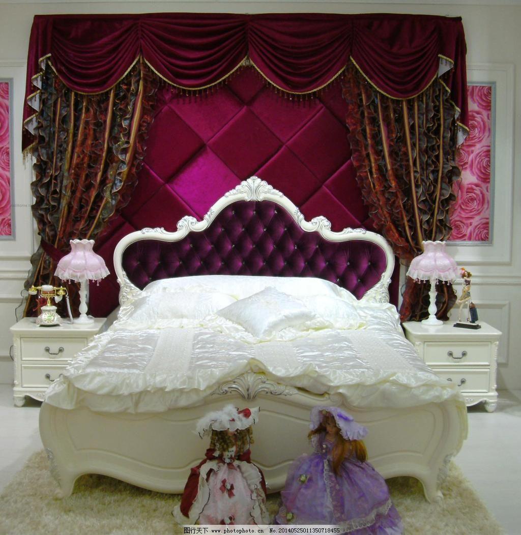 欧式软包卧室