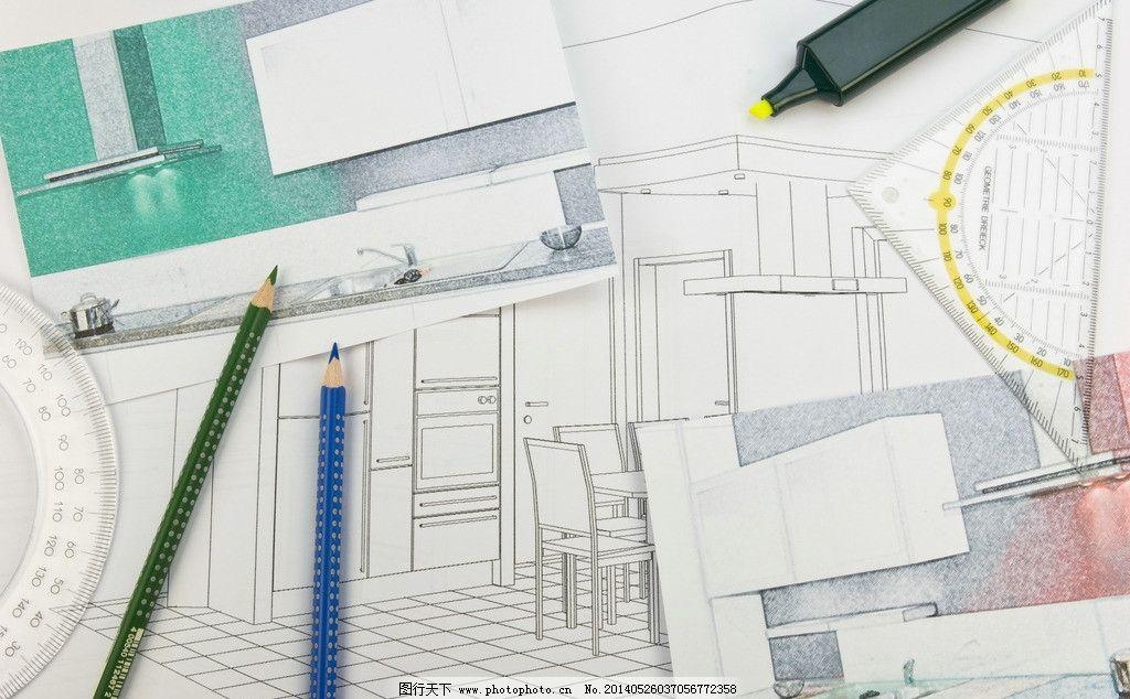 工程图纸 施工图纸 设计图纸 设计图 生活素材 生活百科 摄影 300dpi