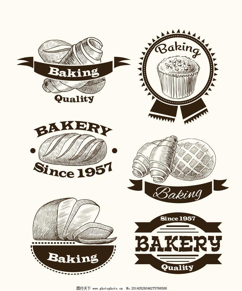 面包 手绘面包 美食 营养 西餐美食 餐饮美食 餐饮美食素材 生活百科