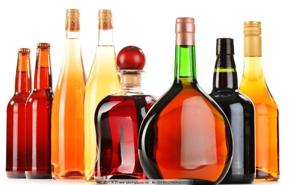 红酒洋酒瓶子图片