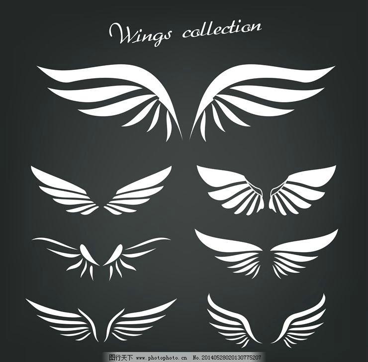 天使翅膀恶魔翅膀图片