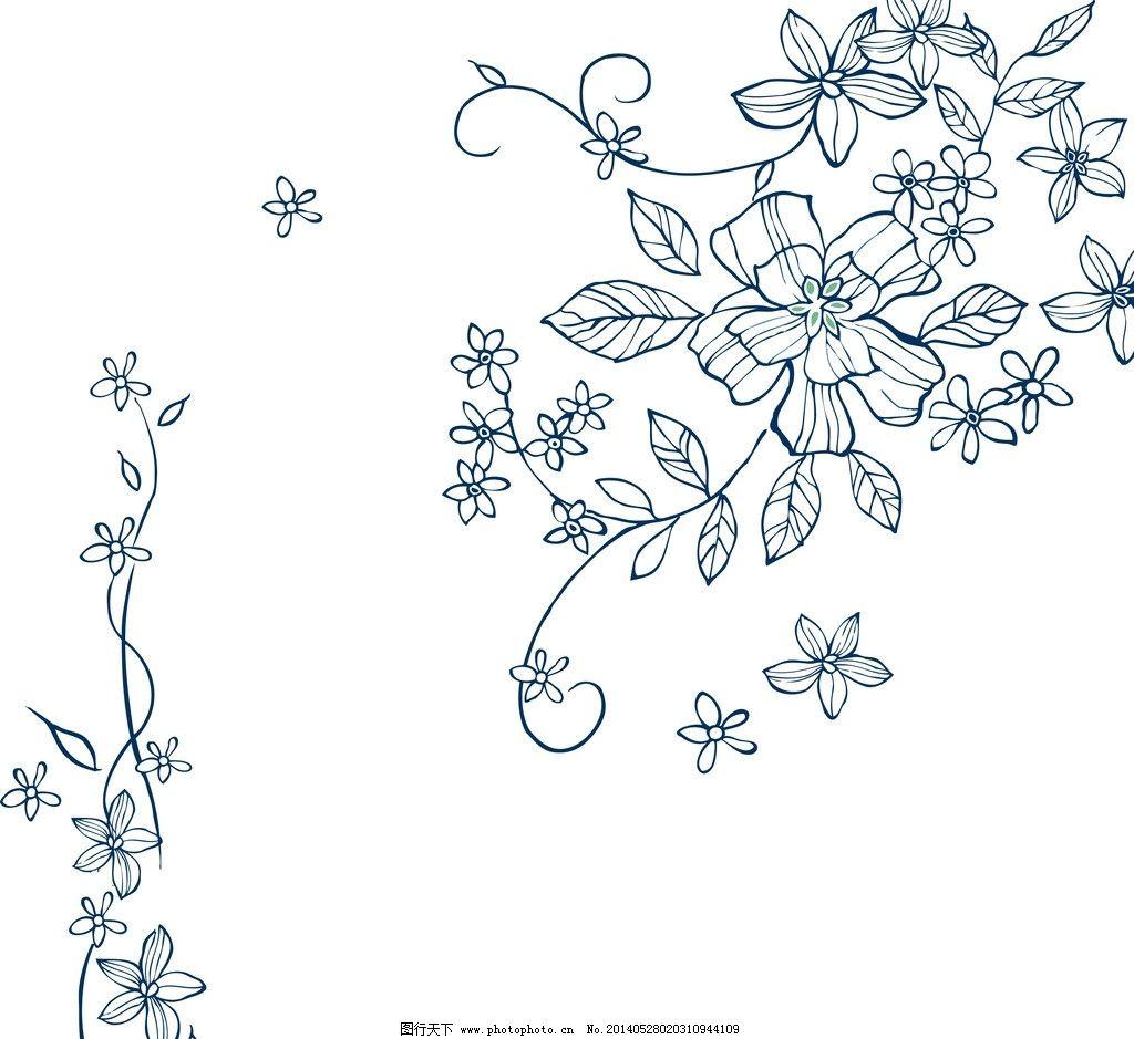 初学者手绘线稿步骤图背景