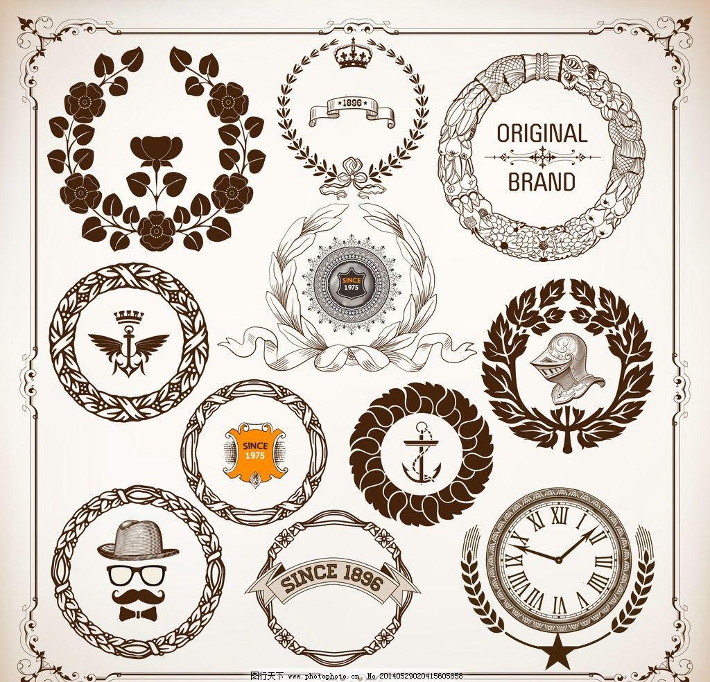 欧式钟表手绘图