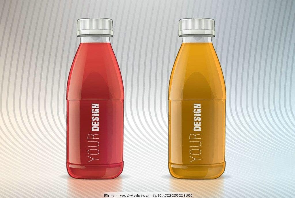 酒瓶瓶子 水瓶 饮料瓶 矿泉水瓶 塑料瓶 玻璃瓶 时尚背景 绚丽背景图片