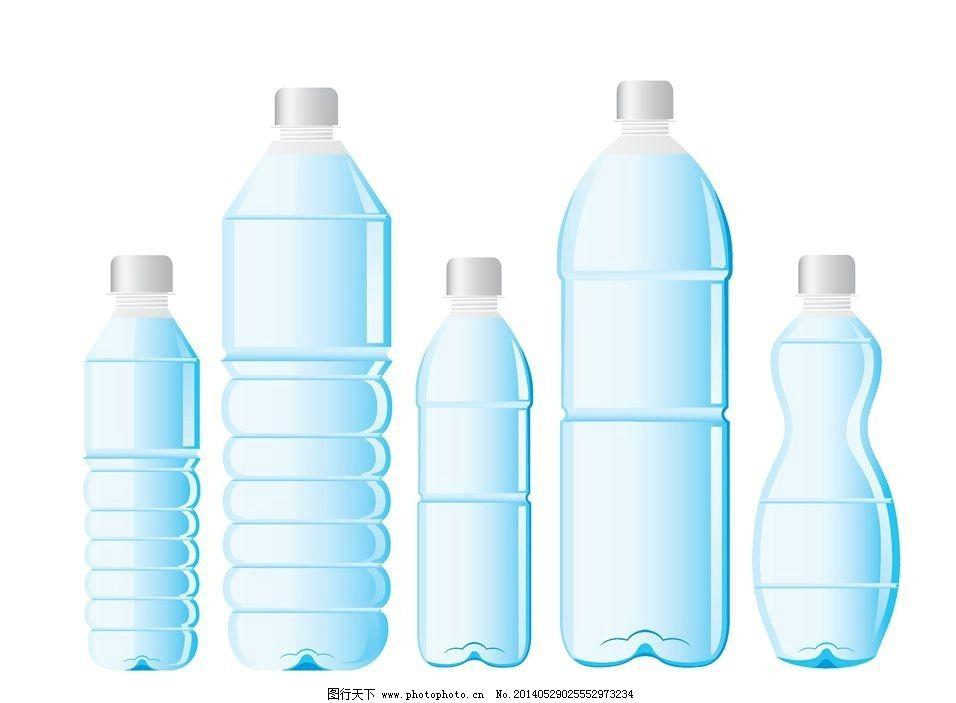 酒瓶瓶子 瓶子 水瓶 饮料瓶 矿泉水瓶 塑料瓶 酒瓶 玻璃瓶 时尚背景图片