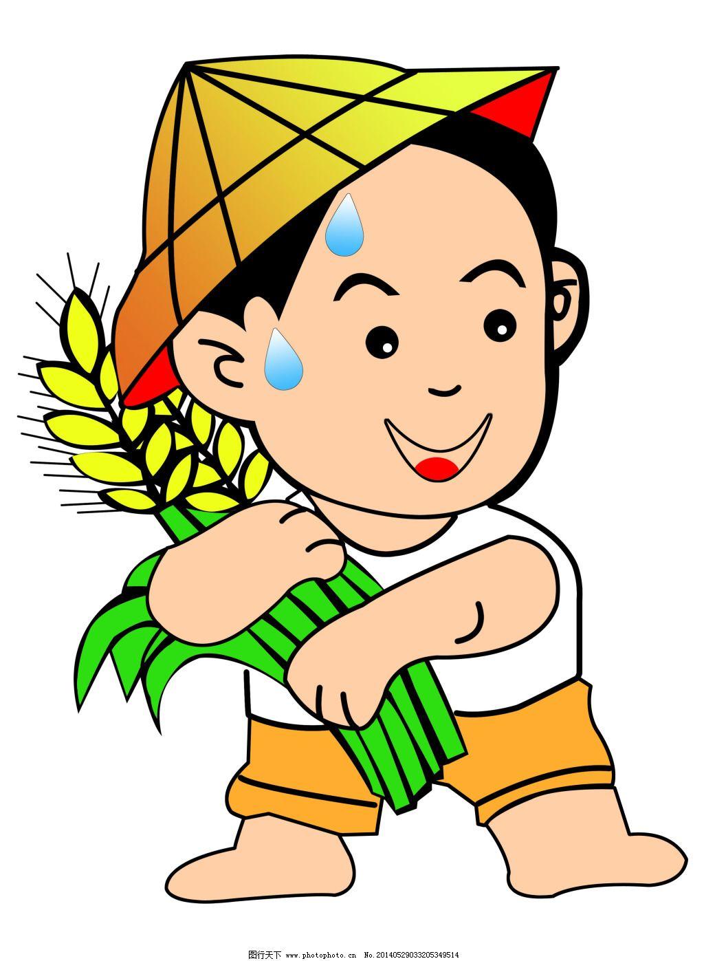 农民 农民免费下载 稻米 丰收 广告设计