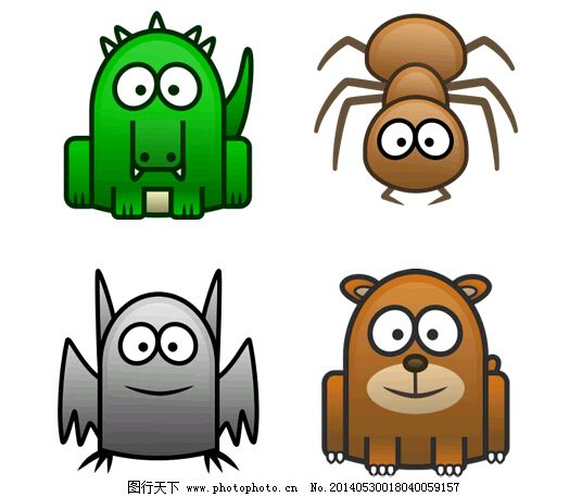 简笔画小动物免费下载 动物 简笔画 小动物 蜘蛛 动物 小动物 简笔画 蜘蛛 网页素材 网页模板psd|网页素材