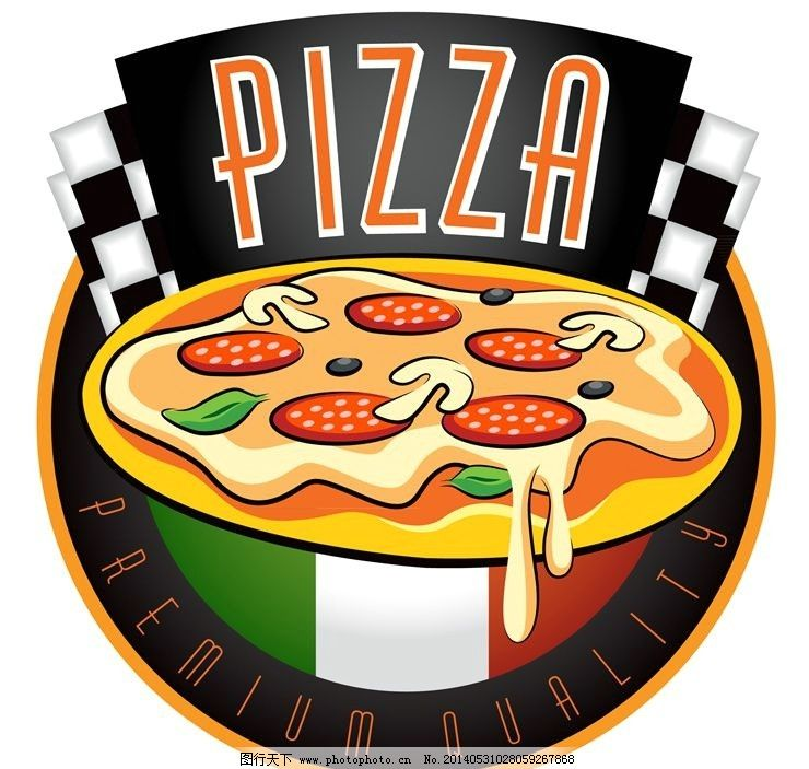 pizza 西餐 美食 意大利披萨 时尚背景 绚丽背景 背景素材 背景图案