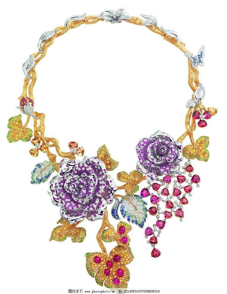 珠宝首饰项链图片