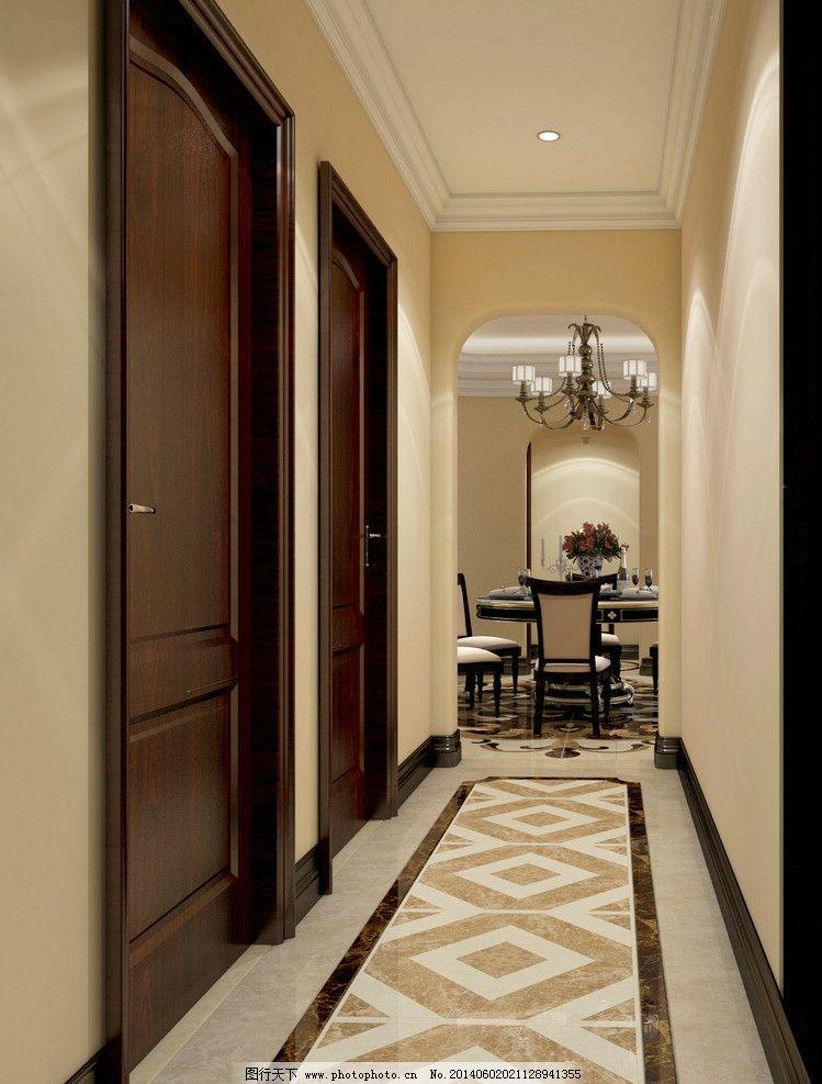 走廊 家装 美式 餐厅 欧式图片