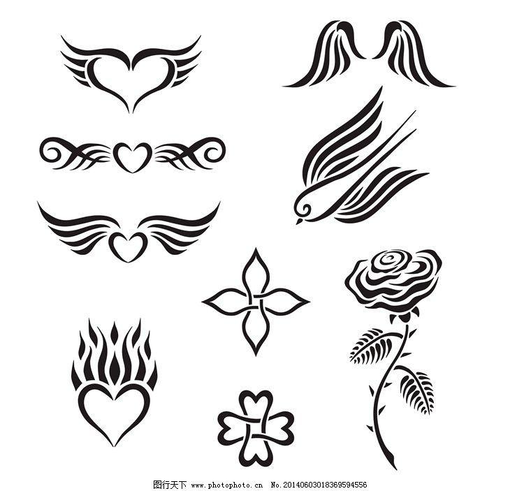 纹身花纹图腾图案图片