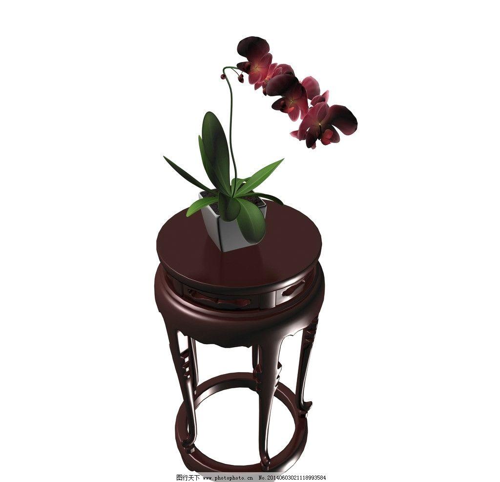 欧式花架 花架 家具 红木家具 茶几 红木茶几 欧式茶几 摆设 装饰品