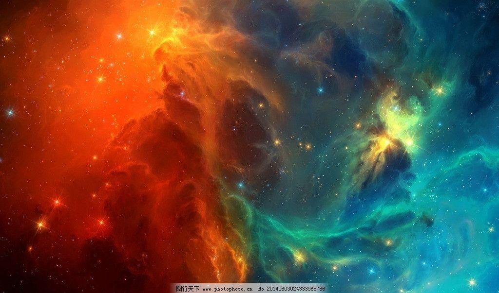 星空高清大图图片,梦幻 科幻 炫丽 色彩 星空高清壁纸