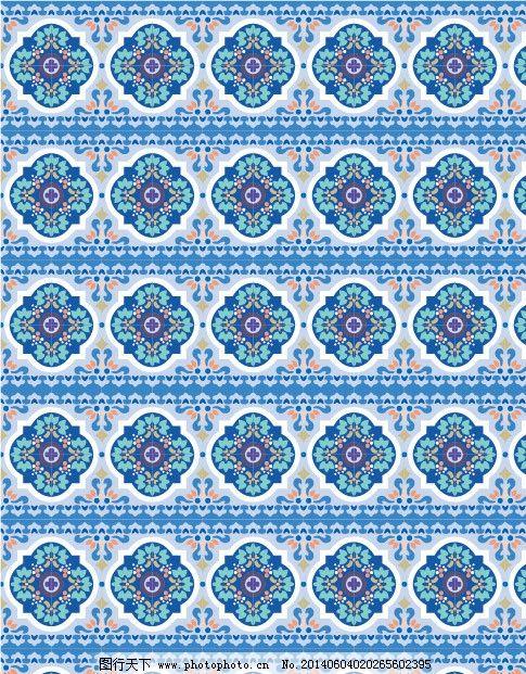 花纹 图案 欧式花纹 印花 二方连续图 布纹 纹理 印染花纹 墙纸纹