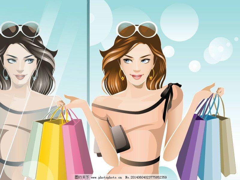 手绘服装设计 购物 潮流 设计 旅游 时装手稿 女孩 女人 时尚 少女