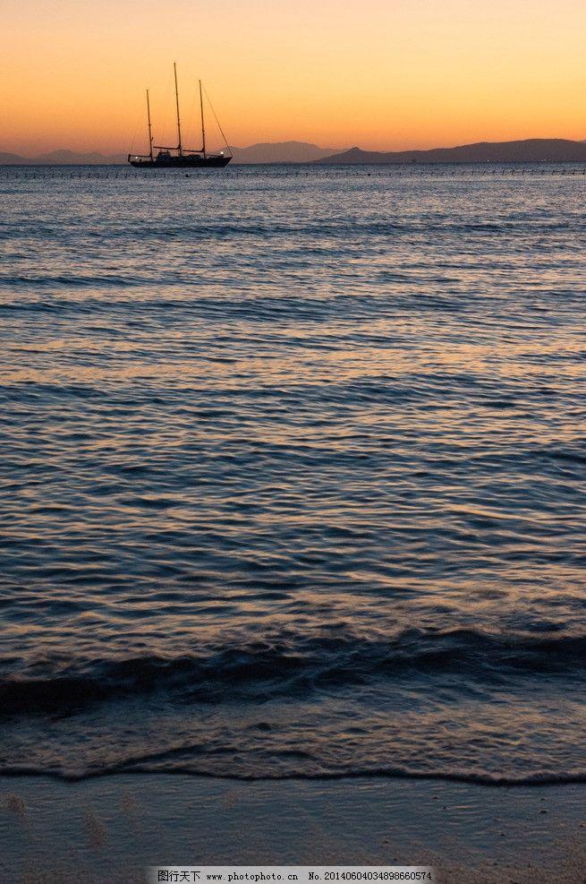 海上渔樵 秦皇岛 北戴河 海边 旅游 风景 风光 自然 城市 夕阳