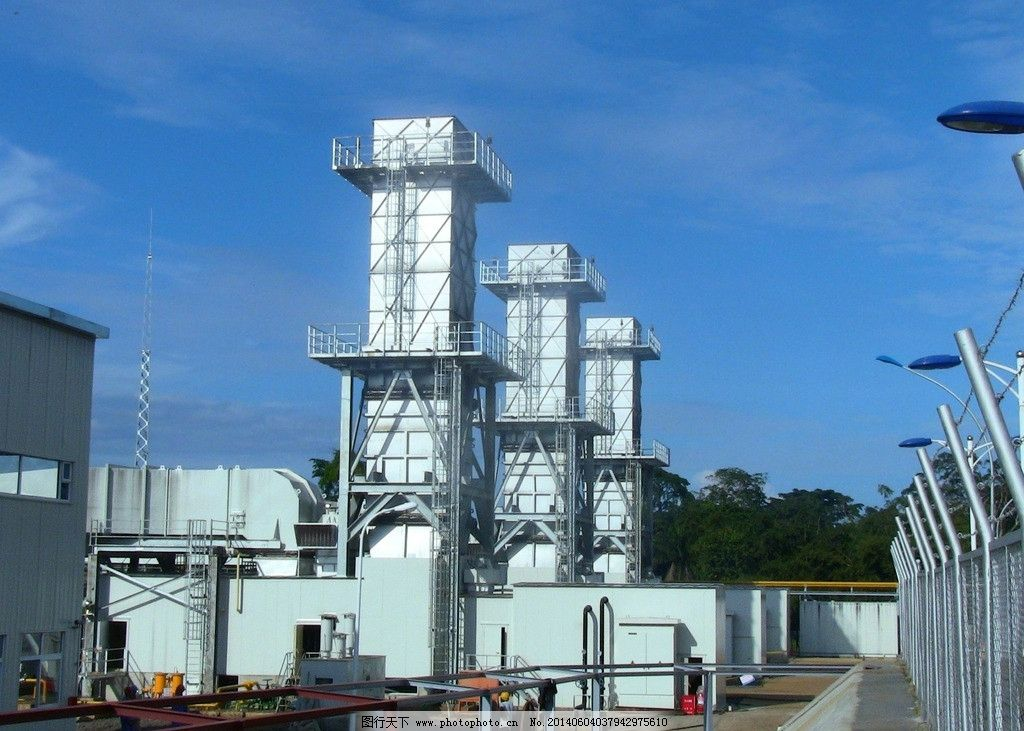 电厂 海外电力 赤道几内亚马拉博电厂图片