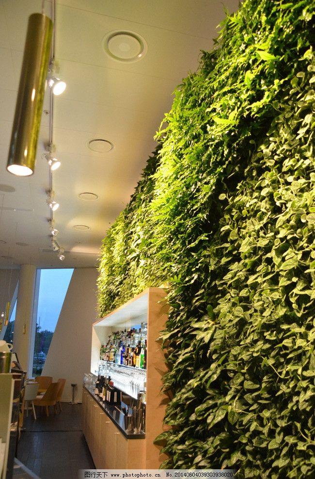 植物墙 室内设计 环保 绿色 时尚 室内摄影 建筑园林 摄影 300dpi jpg