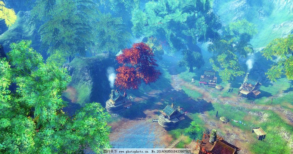 剑灵游戏宣传壁纸 设计素材