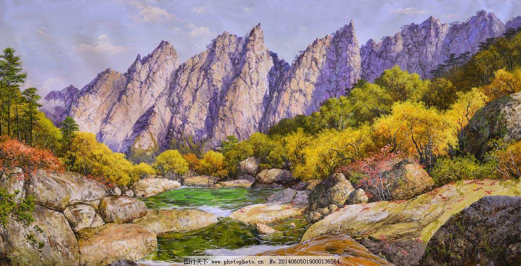 油画风景 欧式风景 油画