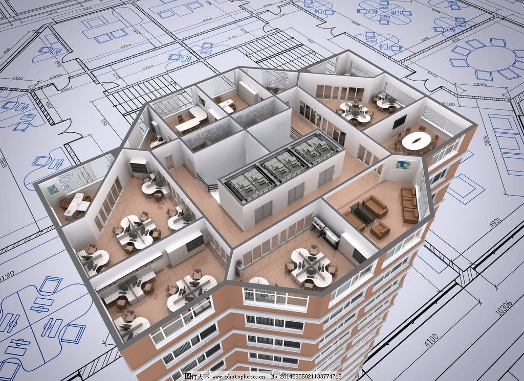 3d建筑模型 建筑设计 模型图 示意图 样板 解剖图 房子 图纸 模型