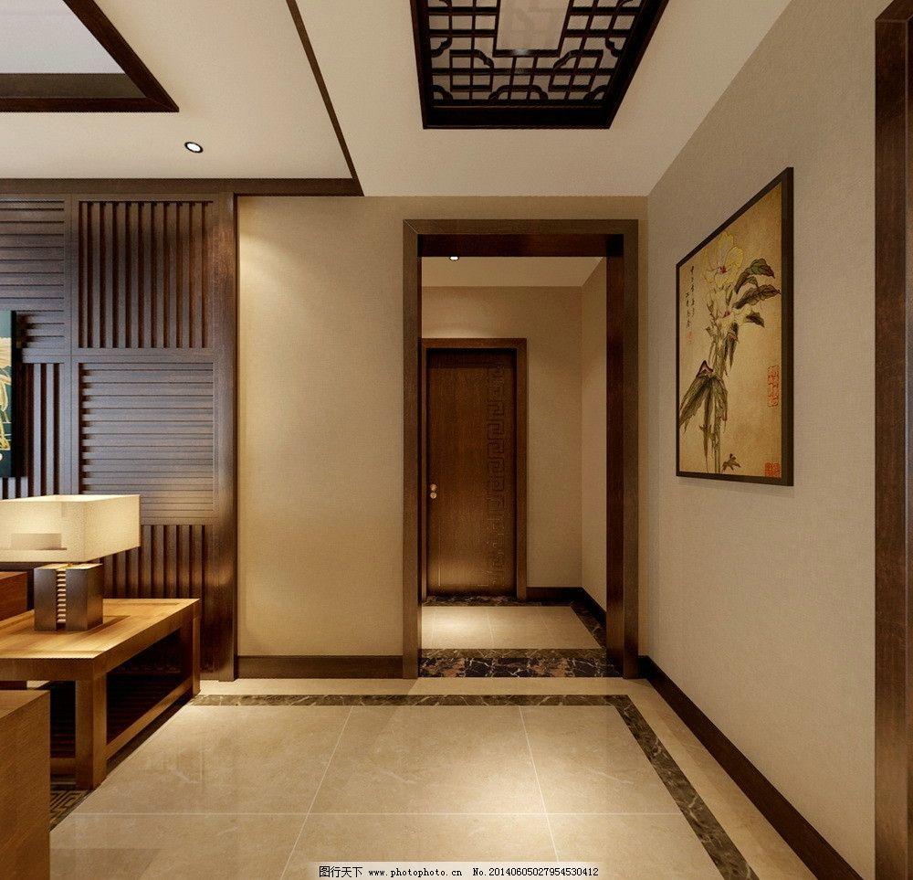 室内效果图        室内设计      背景墙 日式风格 环境设计 设计 9