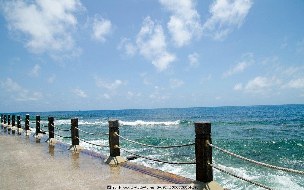 大海 三亚 海景 云彩 蓝天 白云 海边 西岛 国内旅游 旅游摄影 摄影