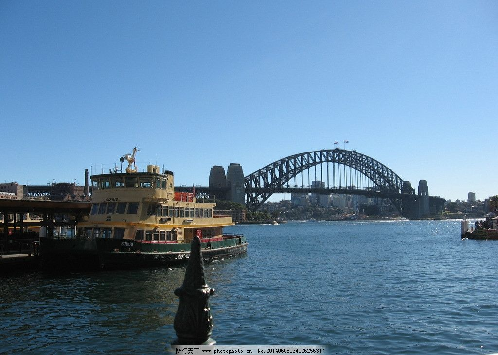 水上风景 澳洲 旅游 悉尼 桥船 国外旅游 摄影