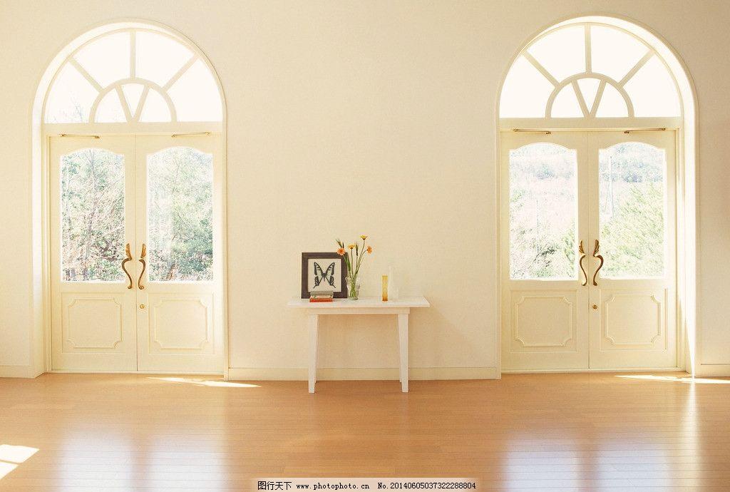 简约家居 简约家居图片素材下载 家居一角 欧式家居 木地板落地窗