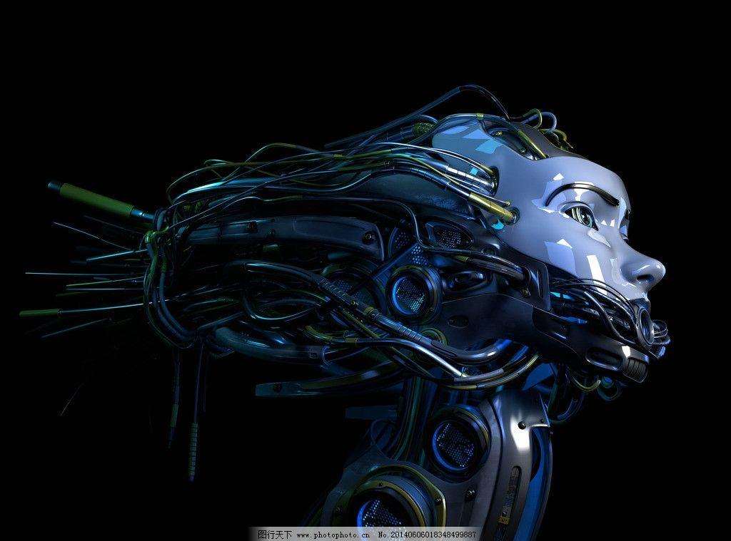 科幻机器人-机械人设计