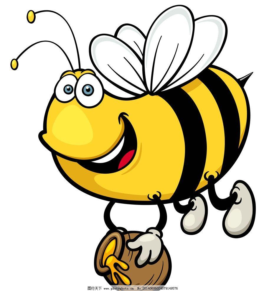 蜜蜂 手绘动物 手绘 线描 素描 昆虫 卡通 可爱 矢量 美术绘画 文化