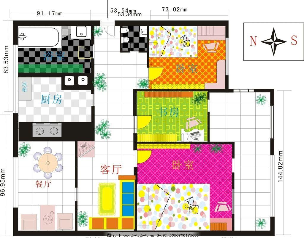 室内平面设计图图片图片