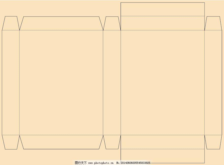 包装盒 包装盒免费下载 结构 展开图 矢量图 其他矢量图