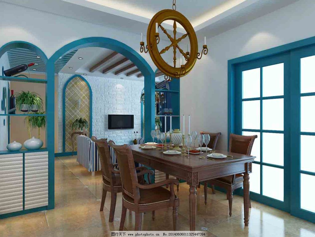地中海设计 地中海设计免费下载 参考 装修 家居装饰素材 室内设计图片