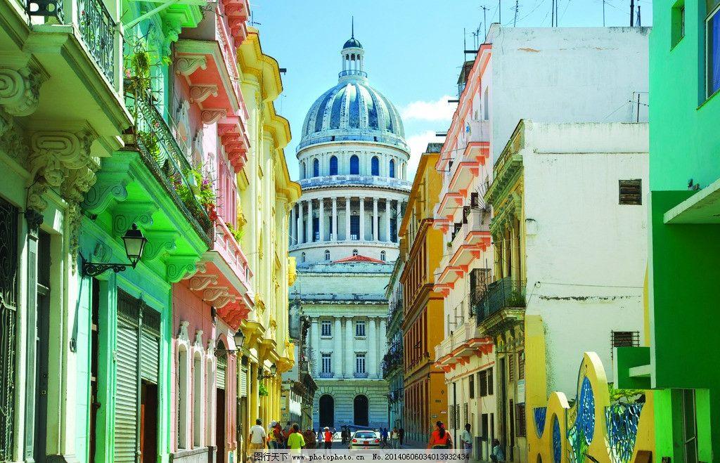 泰山索道_古巴哈瓦那标志性建筑图片_旅游摄影_自然景观_图行天下图库