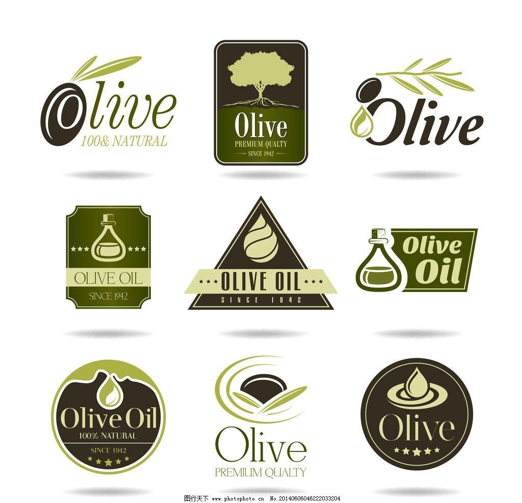 橄榄油 橄榄 营养 手绘 矢量 餐饮美食 生活百科 eps 餐饮美食素 餐饮